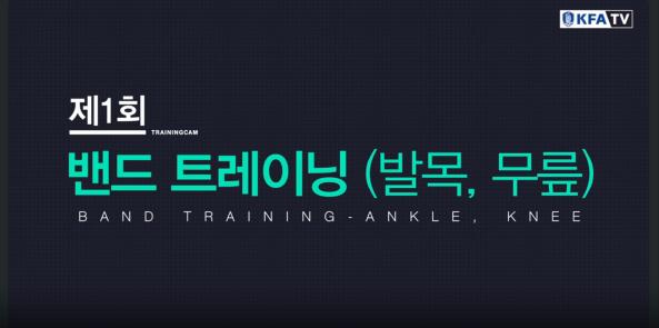 밴드트레이닝(발목,무릎)